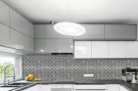 Metallic Kitchen Backsplash by Elalux Tile Backsplash Tile Ideas