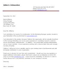 job covering letter sample 10628