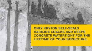 kryton best concrete waterproofing 3 youtube