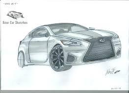 lexus interior sketch how to sketch a car lexus rc f como bocetar un coche youtube