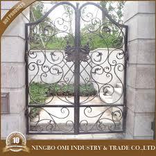 modern luxious craft wrought iron gate design 2016 jia china