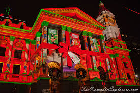 Cheap Christmas Decorations Australia Christmas Decorations In Melbourne Night Walk The Nomadic