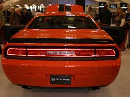 Dodge Challenger 2009 - file 2009 red dodge challenger srt8 rear jpg wikimedia commons