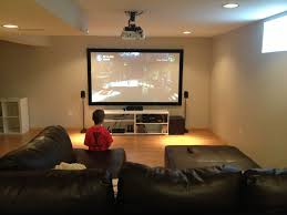 home theater projector screens basement theater 92