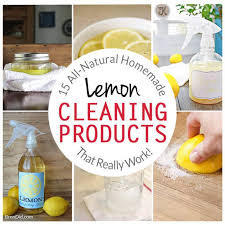 Homemade Upholstery Shampoo 15 All Natural Homemade Lemon Cleaning Products That Really Work