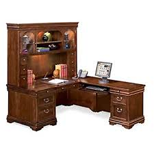 l shaped desk with hutch right return amazon com l shaped desk with right return and hutch kitchen dining
