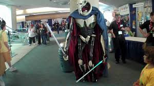 comic con 2010 awesome general grievous costume major nelson youtube