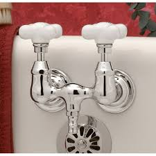 Tub Faucet Wall Mount Morris Down Spout Tub Wall Mount Clawfoot Tub Faucet 3 3 8 Inch
