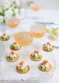 crab canapes crab and avocado tortillas delicious magazine