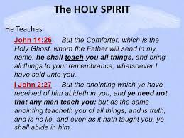 Holy Spirit My Comforter The Holy Spirit The Holy Spirit Is God Almighty Ppt Online