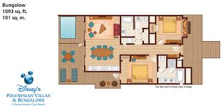disney floor plans bora bora bungalows