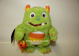 Monster Halloween by Hallmark Roary The Candy Monster Halloween Plush With Sound And