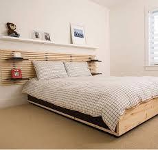 queen bed with shelf headboard decorative headboard with shelves u2014 emerson design