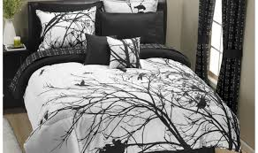 Green And White Duvet Cute Silver Queen Hotel Collection White Duvet Tags Black And