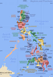 Phillipines Map Philippines Map Showing Provinces Cities U2013 Travel Around The