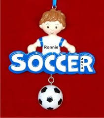 soccer ornaments to personalize snowman soccer personalized family christmas ornament
