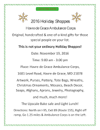 2nd annual holiday shoppes event hdgac org