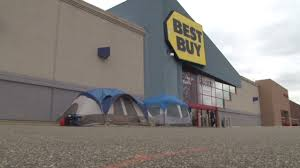 bestbuy thanksgiving hours black friday lines already video business news