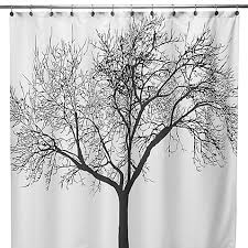 Shower Curtains Bed Bath And Beyond Black Tree Fabric 70 Inch X 72 Inch Shower Curtain Bed Bath U0026 Beyond
