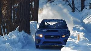 subaru snow wallpaper watch a 2017 subaru wrx sti attack a bobsled run the drive