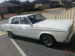 chrysler valiant 1967 4d sedan 4 sp manual collectors edition in