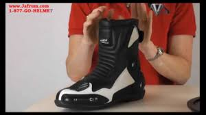 sport motorcycle boots mb2630 mens vega 12 o u0027clock sport motorcycle boots features
