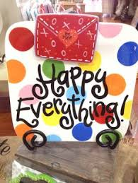 happy everything cookie jar coton colors happy everything seasonal collections platters
