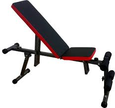 Buy Flat Bench Kobo Adjustable Flat Incline Decline Weight Lifting Exercise Ab