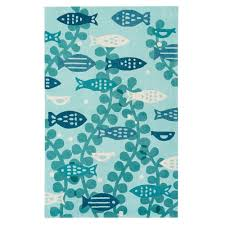 jaipur marine rug iconic by petit collage collection ibp07