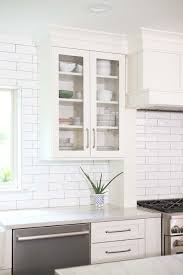 white shaker kitchen cabinets with white subway tile backsplash look for a cook 13 spacious tulsa kitchen white subway tile