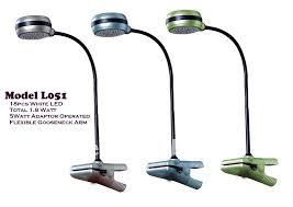 l051 12v led clip desk table lamp nfk lite mfg co ltd