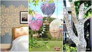 Beautiful Diy Home Decor 22 Charming And Beautiful Lace Diy Projects To Realize At Home
