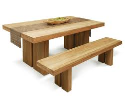 modern solid wood dining table interesting dining room decors