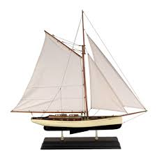 authentic models 1930s classic yacht large houseology