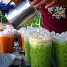 cara membuat thai tea latte cara buat thai green tea latte paling senang 6 minit dah siap