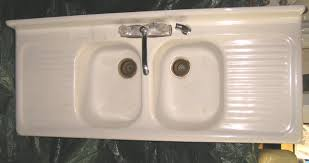 Old Porcelain Kitchen Sink Sinks And Faucets Gallery - White enamel kitchen sinks