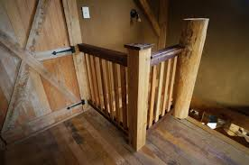 Wooden Stair Banisters Building A Diy Wooden Interior Stair Railing The Year Of Mud