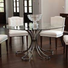 Table In Kitchen Classic Glass Round Table Dining Room Set Dining Room