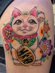 tattoo cat neko 276 best lucky cats maneki neko tattoos images on pinterest