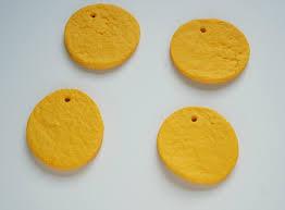 silly salt dough diy emoji ornaments