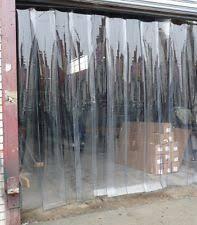 Loading Dock Air Curtain Plastic Door Strips Ebay