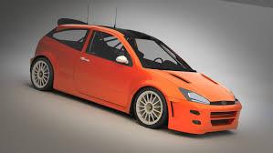model ford focus ford focus rs wrc 2000 3d model in sport cars 3dexport