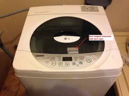 troubleshooting lg top loading washing machine door error ifixit