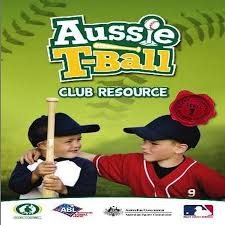 aussie t ball club coach resource manual baseball australia shop
