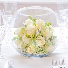 White Roses Centerpieces by White Rose Wedding Centerpiece Centerpieces Martinis And Glass