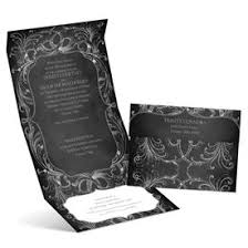 Folded Wedding Invitations Folded Wedding Invitations Z Fold Wedding Invitations Ann U0027s