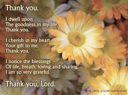 4 prayers of gratitude to god