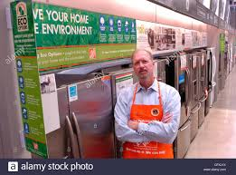 Home Depot Stands Atlanta Ga April 16 Ron Jarvis Vice President Of