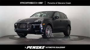 Porsche Cayenne Jacking Mode - 2017 new porsche cayenne turbo awd at porsche of stevens creek