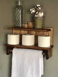 bathroom storage rustic towel holder storage for bathroom bath